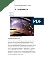 Introdução à Astrobiologia _ UR