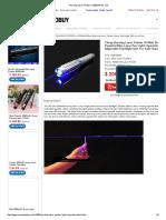 Burning Laser Pointers 10 Watt