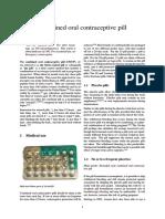 Combined Oral Contraceptive Pill