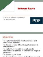 Chap 6- Software Reuse