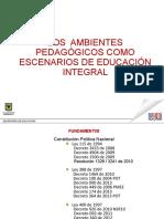 4 Ambientes Para La Formacion Integral 2014