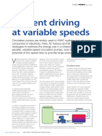 Efficient Driving at Variable Speeds World Pumps Vol 2013 Issue 4 0
