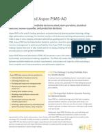 Aspen PIMS Details
