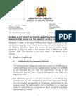 Audit Report Response