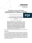 Effects of Various Acid Catalyst on the Esterification