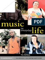 DeNora - Music in everday life.pdf