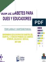 Guia Diabetes Para DUEs Y Educadores