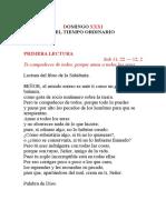 DOMINGO XXXI TIEMPO ORDINARIO.docx