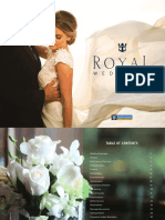 Royal Caribbean Arabia - Cruise Wedding Brochure