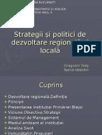 Strategii Si Politici de Dezvoltare Regionala