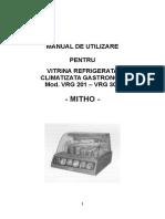 Vitrina Refrigerata Gastronom VRG201-VRG301