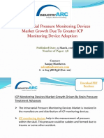 Intracranial Pressure Monitoring Devices Market Advances In Intracranial Pressure Treatment To Drive Growth | IndustryARC