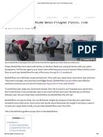 How to Barbell Row With Proper Form_ the Definitive Guide