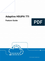 Zte Umts Ur14 Adaptive Hsupa Tti Feature Guide_v1.10