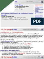 3.2 Exchange Rates