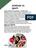 IELTS Institute in Chandigarh
