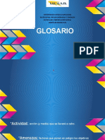 Glosario, Diseño de Proyecto