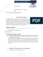 Curriculum Vitae Actual - Renzo Paul Paucar Cordova 2016 - Envio Lima