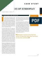 The Success of Ethiopian