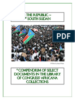 An Annotated Bibliography of South Sudan