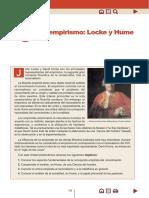 El Empirismo Locke y Hume