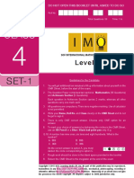 Imo Sample Paper Class 4 Set 1