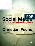 Social Media a Critical Introduction