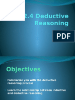 Lesson 2.4 Deductive Reasoning 2