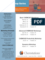 2016 CHEMCAD Workshops Download