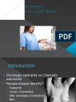 Inmediate Breast Reconstruction With Direct Implants