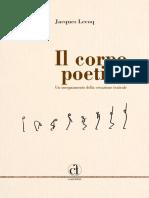 Jacques Lecoq - Il Corpo Poetico
