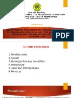 Jurnal Reading Dan PR