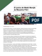 Sinpermiso-marruecos El Juicio de Maati Monjib y La Muerte de Mousine Fikri-2016!11!06