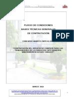 Pliego de Condiciones Definitivo Concurso Abierto 01 2015