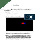 assignment9 writeup