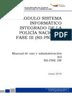 Manual Uso SII-PNE 3W Version 5.0
