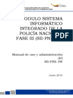 Manual Uso SII-PNE 3W Version 5.0