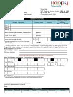 BSN Happy Rewards Form 110816