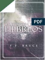 F.F Bruce - Hebreos