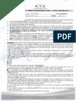 Prova - Processo Civil - II Unidade