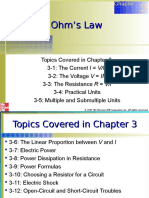 Chapter 03 Ohm's Law