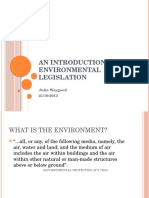 An Introduction to Environmental Legislation L4U