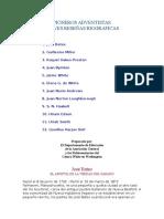 PIONEROS ADVENTISTAS y su Biografia.doc