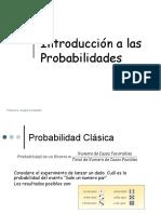 Clase 2-Introduccion a Las Probabilidades