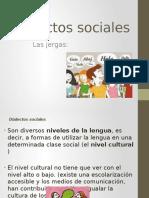 dialectos sociales