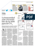 La Humanidad Ante El Temido Hito de Las 400 Ppm de CO2
