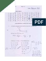 Functions 11 - Practice Exam Solutions