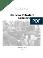 Derecho Petrolero Ecuatoriano