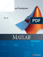 MATLAB®Desktop Tools and Development Environment