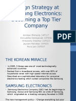 Design Strategy at Samsung Electronics
